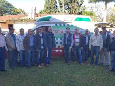 Cañicultores donan una ambulancia a la Municipalidad de Itapé
