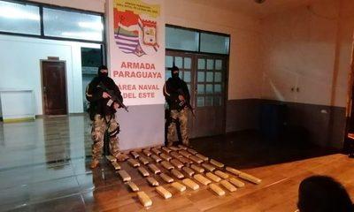 Incautan canoa cargada con panes  de marihuana a orillas del río Paraná – Diario TNPRESS