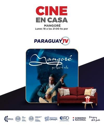 Cine en Casa por Paraguay TV Mangoré, por amor al arte