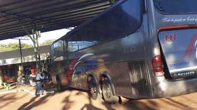 Terminal de ómnibus empieza a reactivar bajo medidas sanitarias