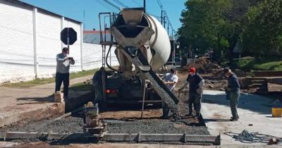 Finalizan trabajos de mejoramiento vial en la calle Serafina Dávalos de Asunción