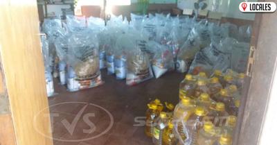 EN ITAPÚA: INICIAN CON LA SEGUNDA ENTREGA DE KITS DE VÍVERES DEL PROGRAMA ALMUERZO ESCOLAR