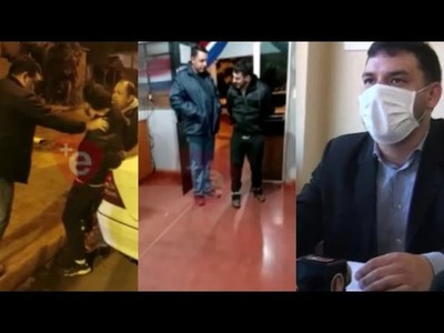 ABOGADO DENUNCIA SUP. AGRESIÓN DE POLICÍAS