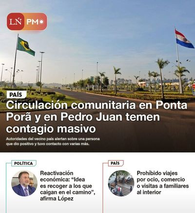 LN PM: Las noticias más destacadas de la siesta