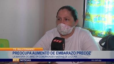 Preocupante cantidad de casos de embarazo precoz en Irala Fernández