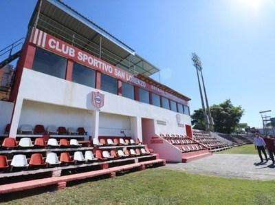 """Estadio de """"el rayadito"""" ya está habilitado para el retorno del Torneo Apertura"""