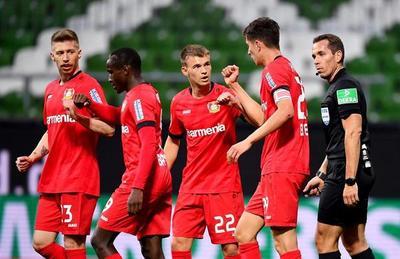Leverkusen vuelve con su marcha firme hacia la Champions