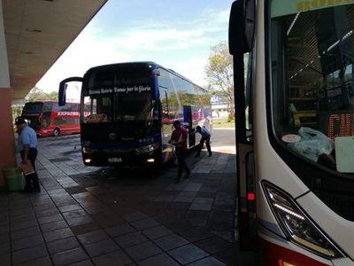 Terminales de distintas ciudades también reiniciaron sus actividades