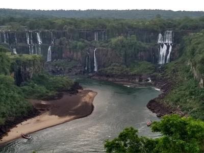 Volumen de AGUA en las CATARATAS del Yguazú BAJO un 66%