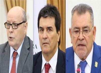 Senado analiza hoy quién reemplazará a Peña en la CSJ