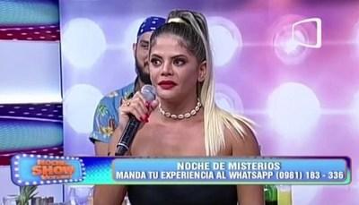 """Simone habló de su pifiada en """"El Gran Show"""""""