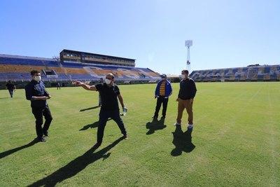 Ya son 12 los estadios inspeccionados con miras a la vuelta del fútbol