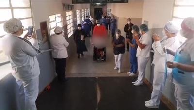 Itapúa dio de alta a primera paciente internada con covid-19