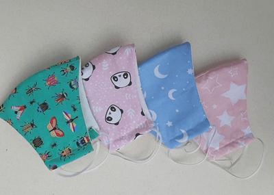 Cuatro emprendimientos que fabrican tapabocas de tela lavables aprobados por Salud