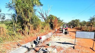 Misiones; avanza la obra de pavimentación asfáltica en el tramo Santa Maria-Santa Rosa