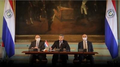 Abdo Benítez expuso medidas de contención del COVID-19 implementadas por el Gobierno ante el Foro de Prosur