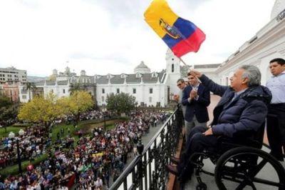 Moreno restablece su Gobierno en Quito tras cese de protestas