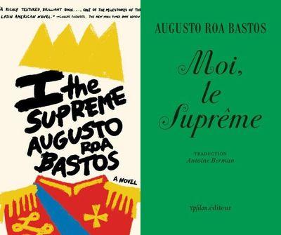 Yo el Supremo es reeditado en Francia y Gran Bretaña