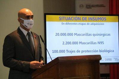 Salud aceptó parte de los insumos médicos entregados por las proveedoras