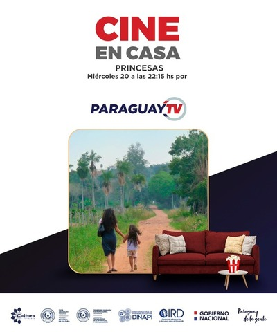 Cortometraje Princesas este miércoles por Paraguay TV