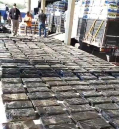 Incautan cargamento de marihuana en Chaco'i