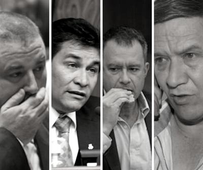Expulsan del Directorio del PLRA a cuatro senadores