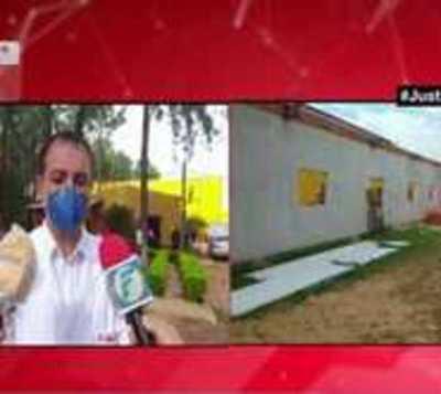 Caaguazú:Compatriotas queman colchones en albergue durante protesta