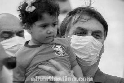 Ni en cien años el Coronavirus podría exterminar toda la población de Brasil, dio a entender el presidente Jair Bolsonaro