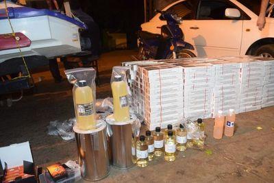 Detienen a presuntos cigarrilleros a orillas del Paraná