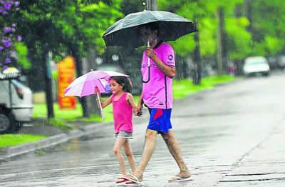 Lluvias y tormentas para hoy