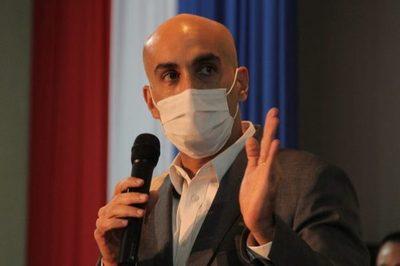 Mazzoleni desmiente falta insumos de bioseguridad para el personal de salud