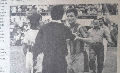 HOY / El día en que Ignacio Achucarro fue expulsado de por vida de la liga paraguaya