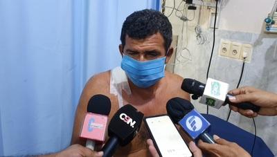 Concepción: En confuso hecho dos personas terminan baleadas