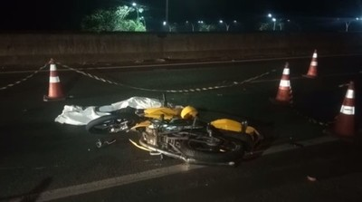Moto-taxista PARAGUAYO muere en FOZ