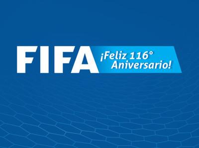 116 años de la FIFA