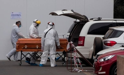 HOY / Chile se acerca a 600 muertes por coronavirus tras reportar 45 nuevos decesos