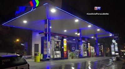 Motochorros realizan violento asalto a gasolinera