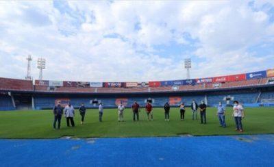Inspección de estadios culmina con la Nueva Olla