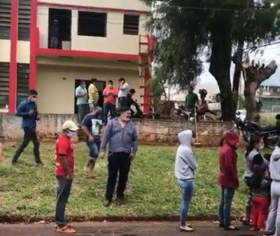 Corrupción: Diputado y seccionaleros ocupan predio de DINACOPA, en Pedro Juan Caballero
