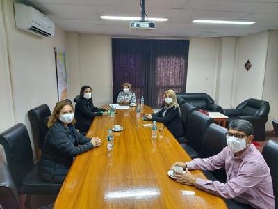 Ministra Módica realiza visita de supervisión en CDE