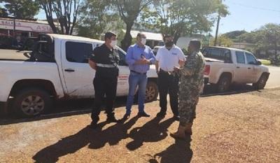 Refuerzan controles en la línea fronteriza con el Brasil en PJC