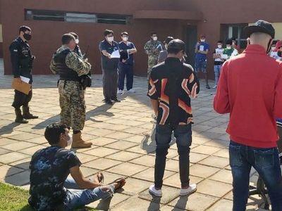 Covid-19: Dan de alta a 49 personas de albergue de Alto Paraná