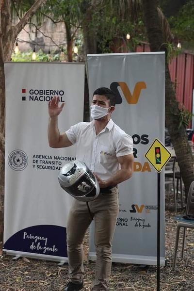 WEBINAR: Buscan capacitar a personal que realiza delivery en motocicleta