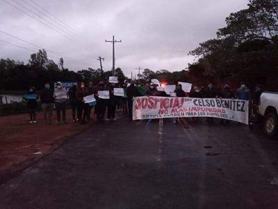 Ciudadanos exigen justicia por la trágica muerte de un poblador de Itapé