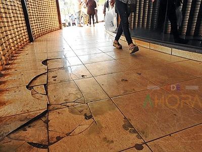 Itaipú inició obras en el MONUMENTO a la CORRUPCION