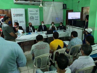 Internos del Penal del Este hacen reclamos por videoconferencia