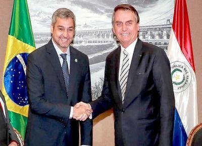 Abdo y Bolsonaro acuerdan no abrir fronteras si no existen condiciones