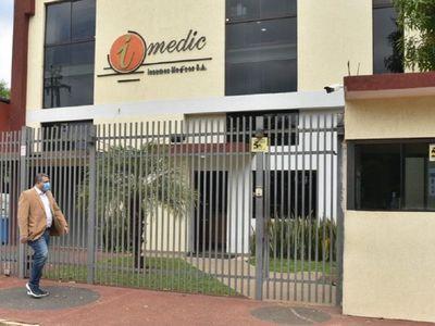 Fiscalas allanan Imedic SA