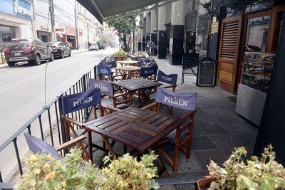 Los patios, claves para la reapertura de sectores gastronómicos