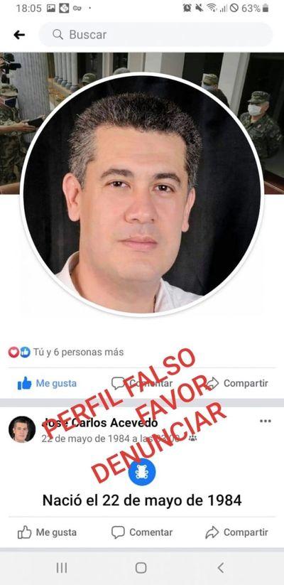 Crean perfil falso en Facebook para perjudicar al intendente José Carlos Acevedo